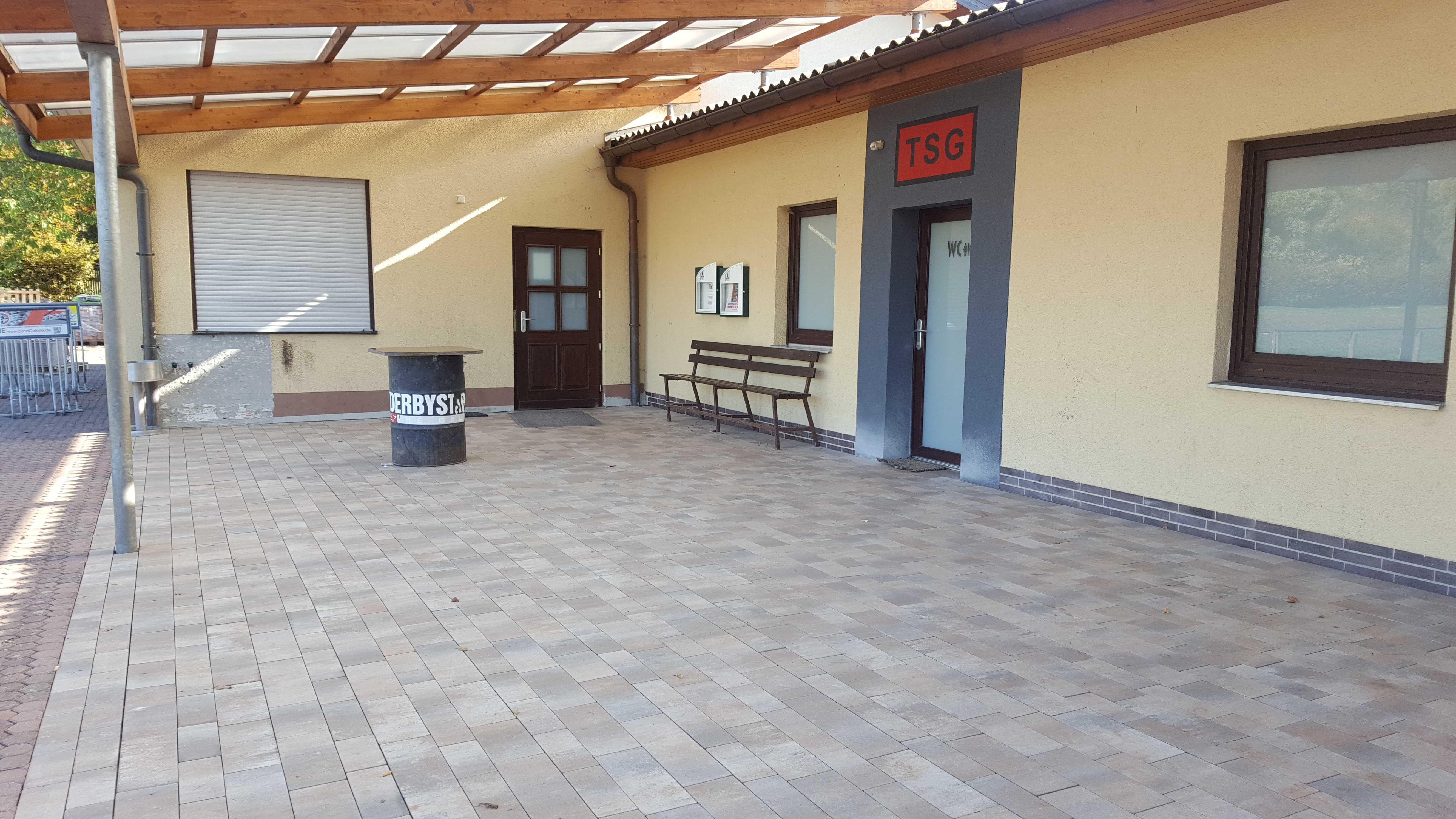Energetische Sanierung und Barrierefreier Zugang am Sportlerheim fertig gestellt